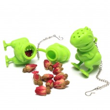 Silicone Dinosaur Tea Infuser With Chain
